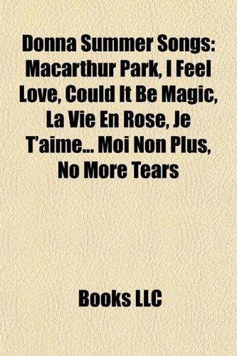 Donna Summer Songs (Music Guide) - insp re   fresh books & music